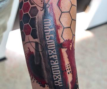 Tetovaže u boji